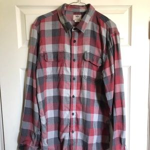 Vans Flannel Red/Gray/Black Plaid